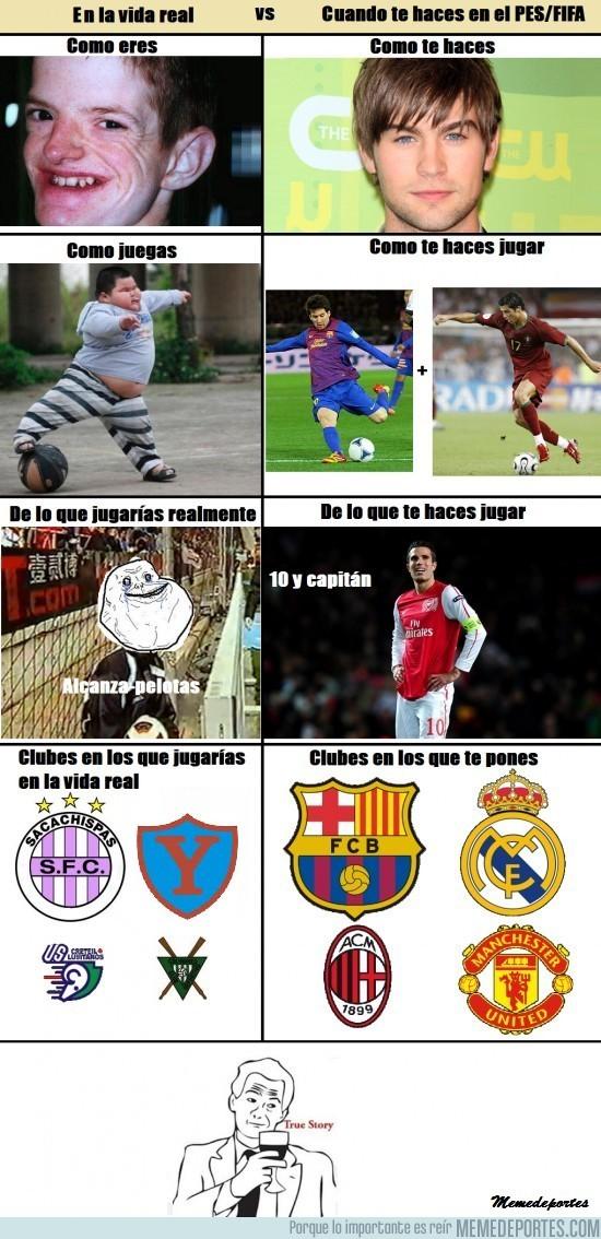 35824 - Realidad vs PES/FIFA