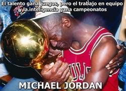 Enlace a Michael Jordan una vez dijo