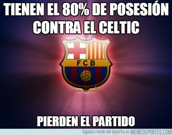 36277 - Tienen el 80% de posesión contra el Celtic