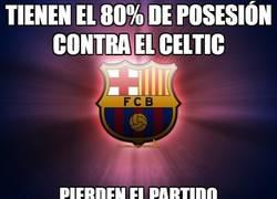 Enlace a Tienen el 80% de posesión contra el Celtic