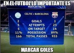 Enlace a Lo importante es marcar goles