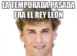 Enlace a La temporada pasada era el Rey León