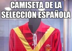 Enlace a Camiseta de la Selección Española