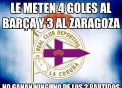 Enlace a Le meten 4 goles al Barça y 3 al Zaragoza