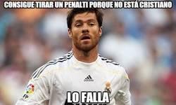 Enlace a Consigue tirar un penalty porque no está Cristiano