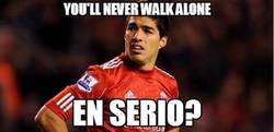 Enlace a You'll never walk alone