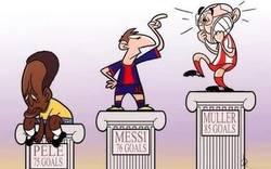 Enlace a Messi, el rompe récords
