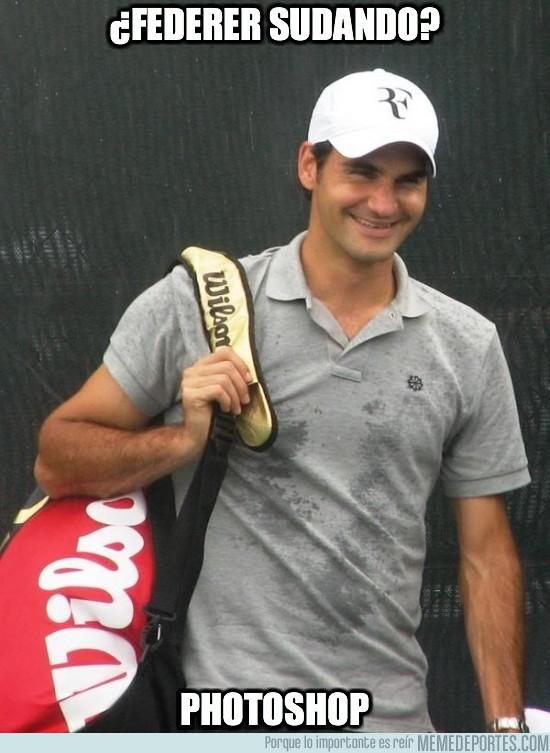 38375 - ¿Federer sudando?