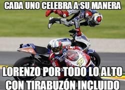 Enlace a Celebración del campeonato de Lorenzo