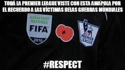 Enlace a Toda la Premier League viste con esta amapola en recuerdo a las víctimas de las guerras mundiales