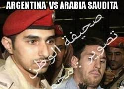 Enlace a Argentina Vs Arabia Saudita