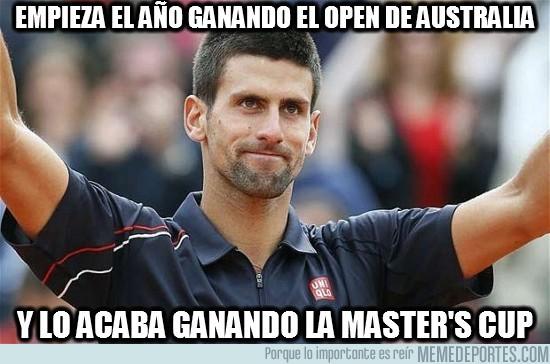 38623 - ¡Djokovic, temporadón!