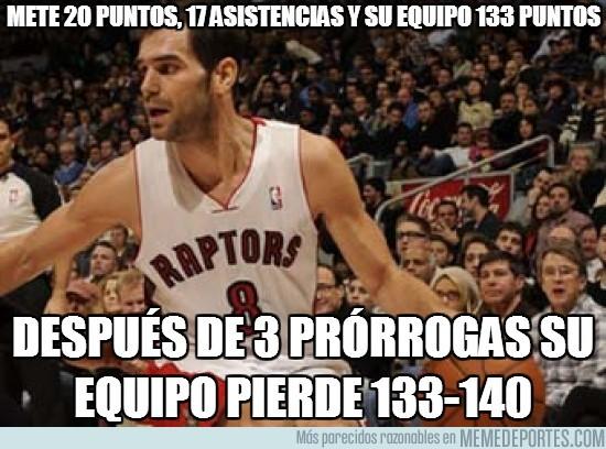 38698 - Mete 20 puntos, 17 asistencias y su equipo 133 puntos