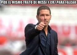 Enlace a Pide el mismo trato de Messi y CR7 para Falcao