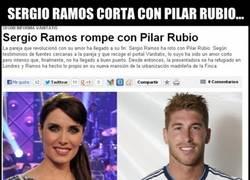 Enlace a Otra prueba más de que Pilar Rubio es gafe