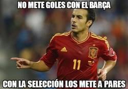 Enlace a No mete goles con el Barça