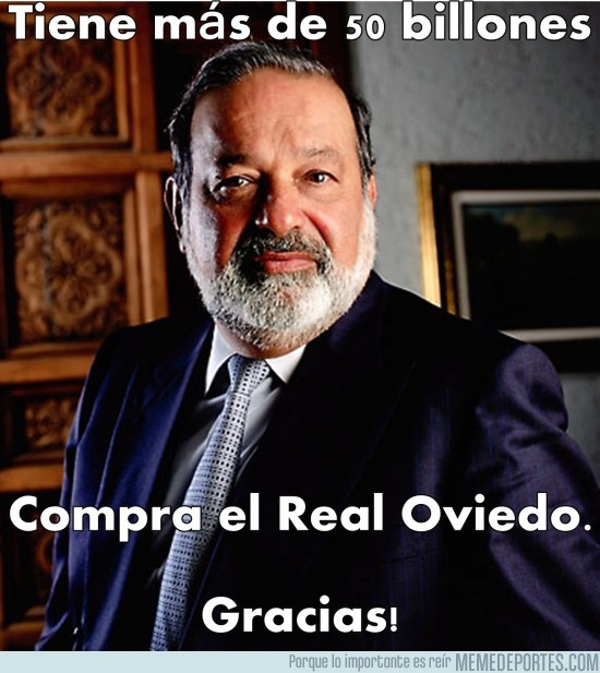 40567 - La persona más rica del mundo compra el Real Oviedo