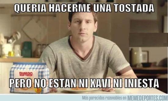 40905 - Messi quiere unas tostadas
