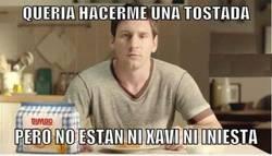 Enlace a Messi quiere unas tostadas
