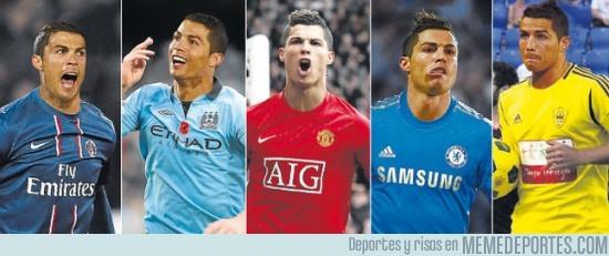 41467 - Estos son los posibles destinos de Cristiano Ronaldo. ¿Cuál crees que le pega más?