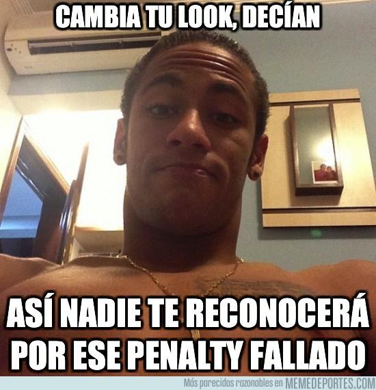 41547 - Con este cambio de look, ¿reconocerías a Neymar por la calle?