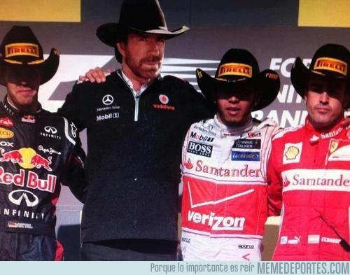 41845 - Chuck Norris también estuvo en el gran premio de Austin