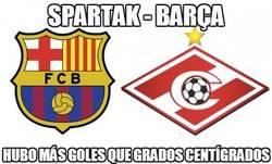 Enlace a Spartak - Barça