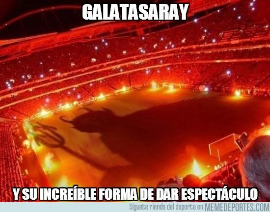 42142 - Estadio del Galatasaray contra el Manchester United