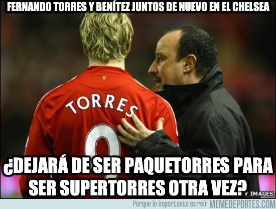 42525 - Fernando Torres y Benítez juntos de nuevo