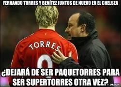 Enlace a Fernando Torres y Benítez juntos de nuevo