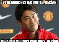 Enlace a Ve al Manchester United, decían
