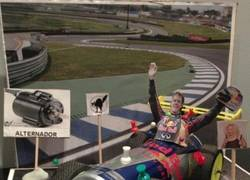 Enlace a Mientras tanto, Lobato haciendo vudú a Vettel