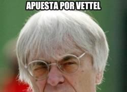Enlace a Apuesta por Vettel