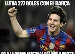 Enlace a Lleva 277 goles con el Barça