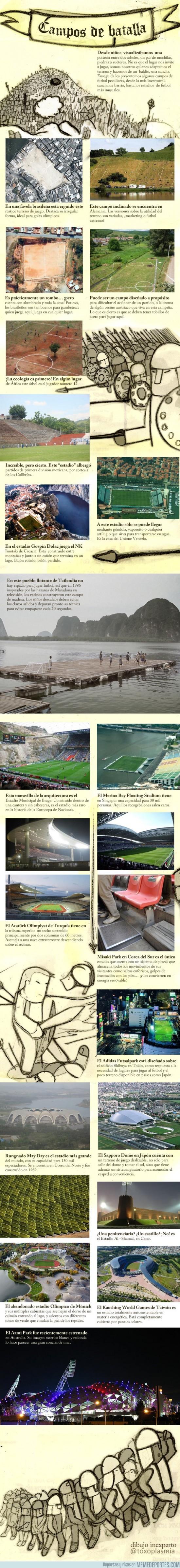 42929 - Los más extraños campos de fútbol