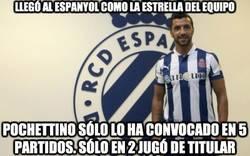 Enlace a Llegó al Espanyol como la estrella del equipo