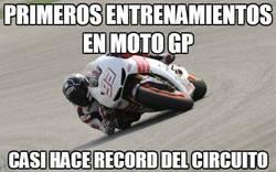 Enlace a Primeros entrenamientos en MotoGP