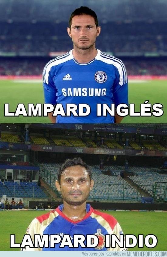 45365 - El Lampard inglés y el Lampard indio