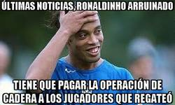 Enlace a Últimas noticias, Ronaldinho arruinado