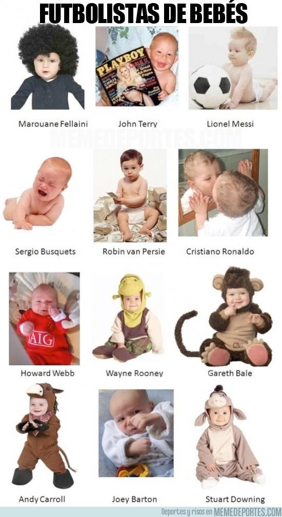 45771 - Futbolistas de bebés