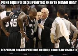 Enlace a Los Spurs, sancionados por exceso de picardía