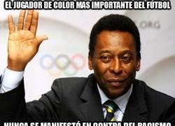 Enlace a Pelé, un grande