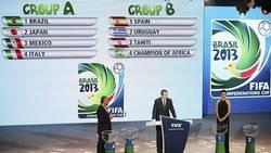 Enlace a Así ha quedado el sorteo de la Copa Confederaciones 2013