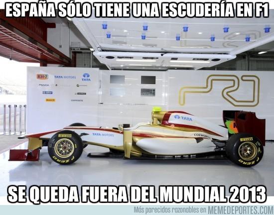 46542 - Tenemos sólo una única escudería española en F1