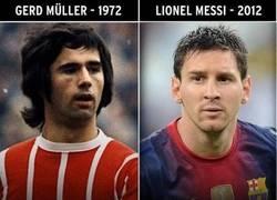 Enlace a Vamos Messi, que estás a 1 de Müller