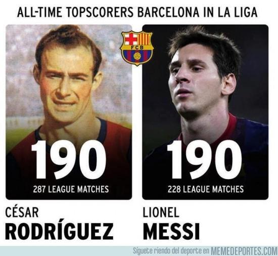 46856 - César Rodríguez vs Lionel Messi