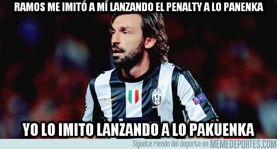 47156 - Ramos me imitó a mí lanzando el penalty a lo panenka