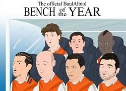Enlace a El banquillo del año 2012 por @BaulAlbiol