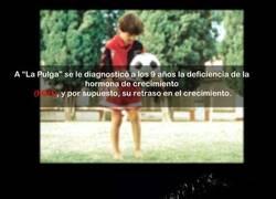 Enlace a Messi y sus hormonas: Acabemos con la ignorancia