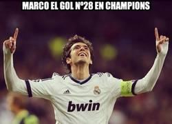 Enlace a Marco el gol Num 28 en Champions